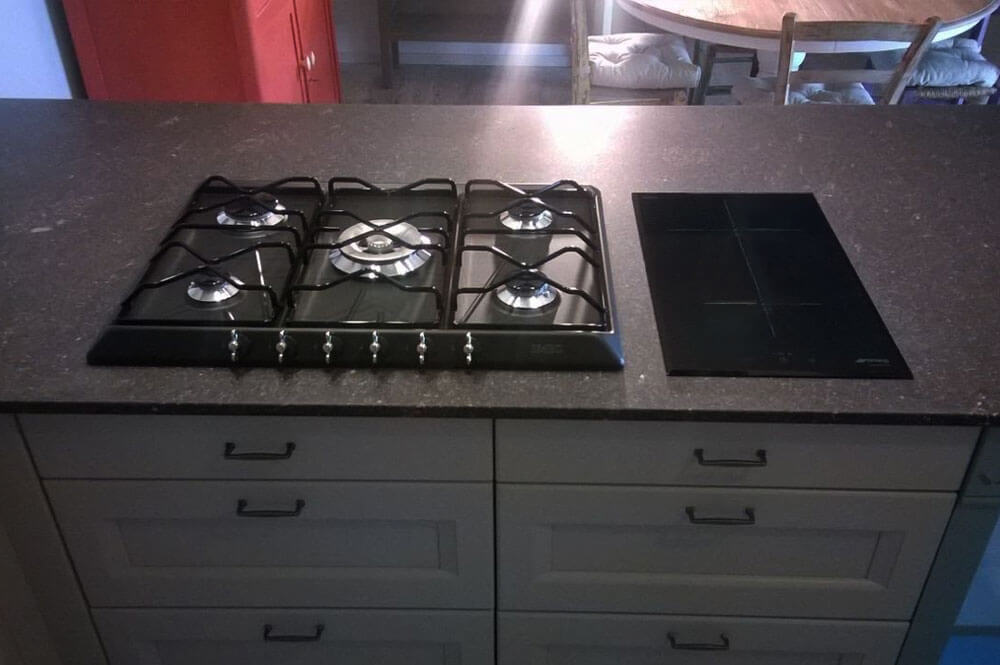 Top cucina porfido trendy top cucina in gres with top cucina porfido good top cucina porfido - Piastrelle finto porfido ...